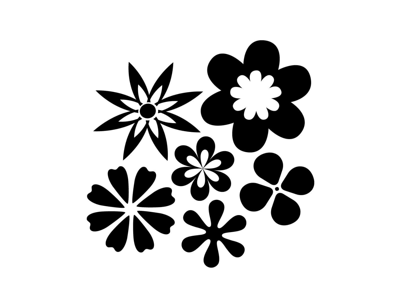 Muurstickers Slaapkamer Bloemen : Muursticker bloemen - Kinderkamer ...