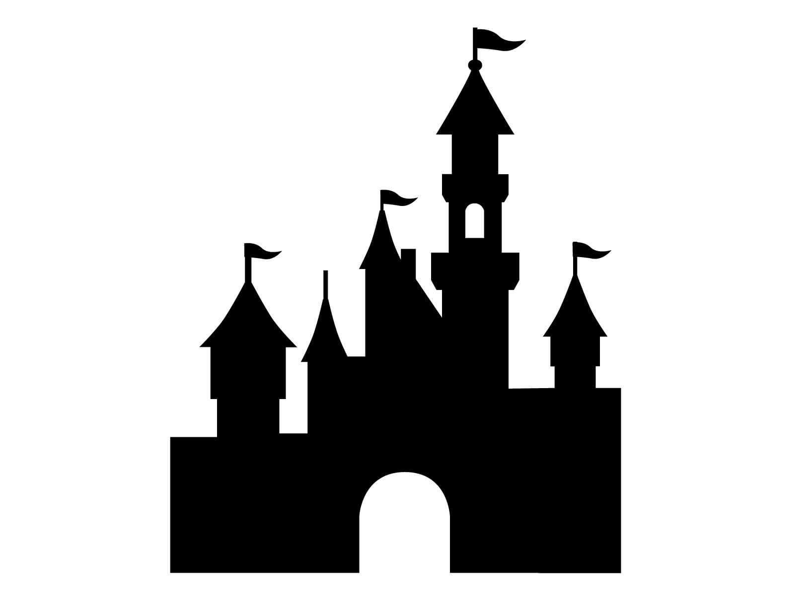 Magic kingdom logo clip art