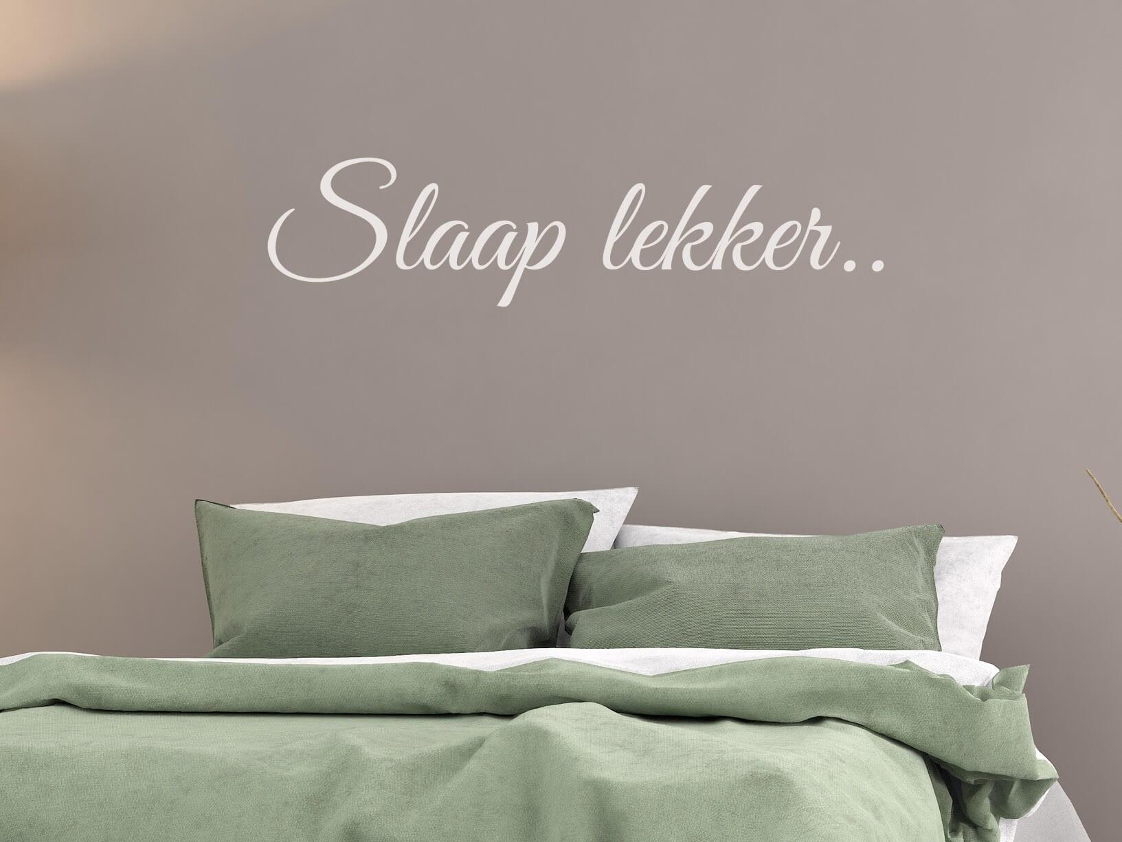 Muursticker u0026quot;Slaap lekker..u0026quot;