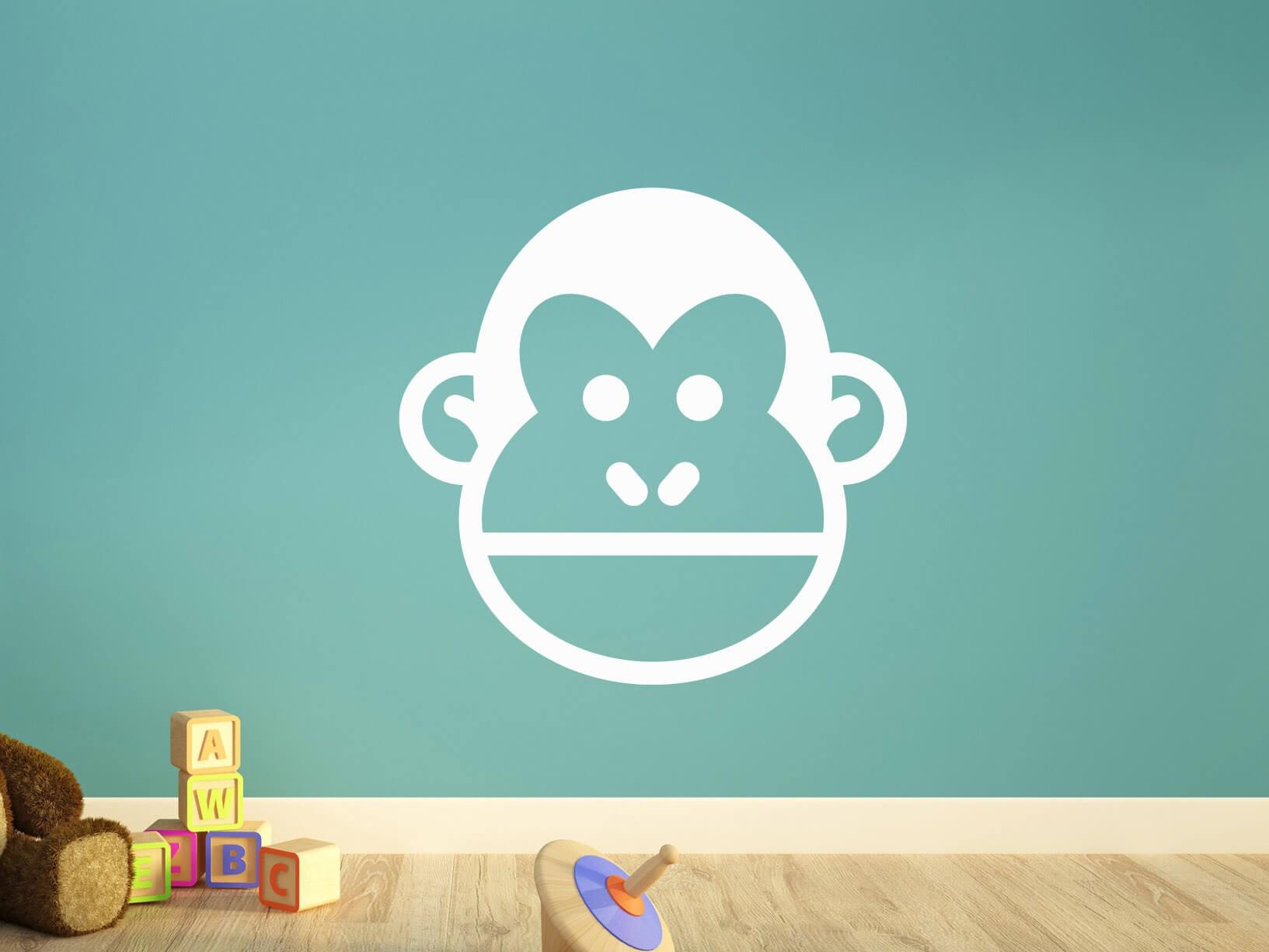 Muursticker aap