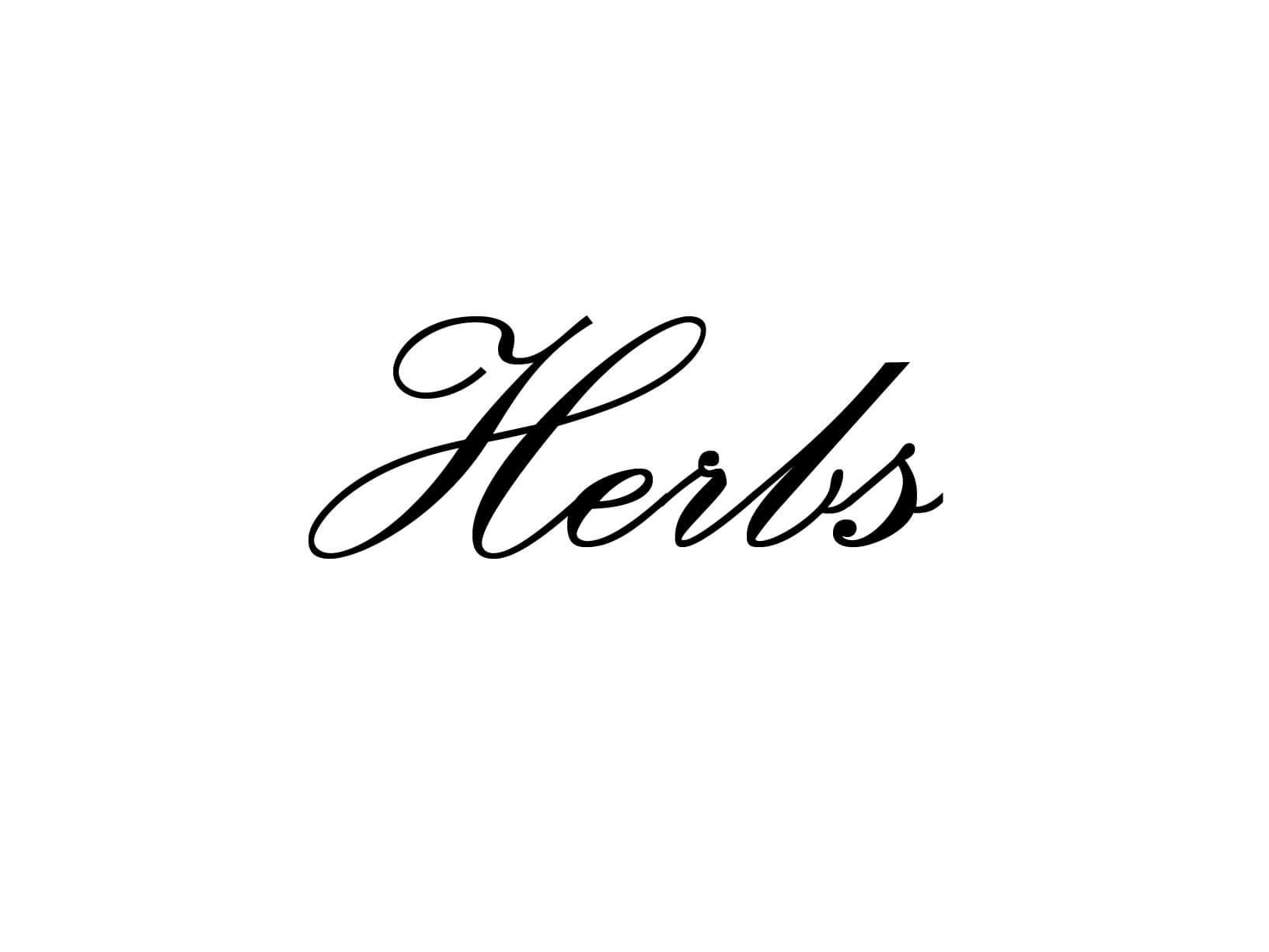 """Meubelsticker """"Herbs"""""""
