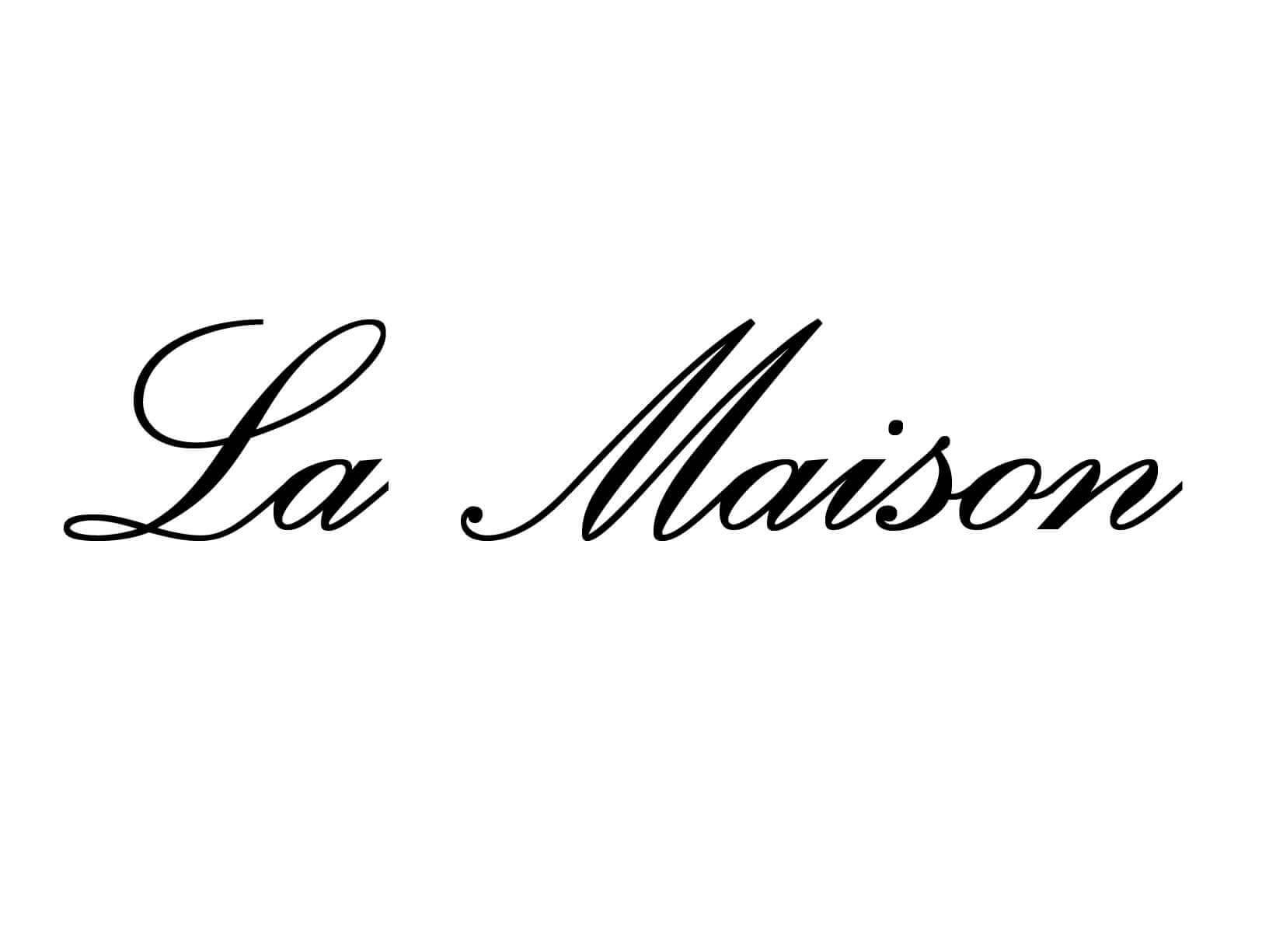 """Meubelsticker """"La Maison"""""""