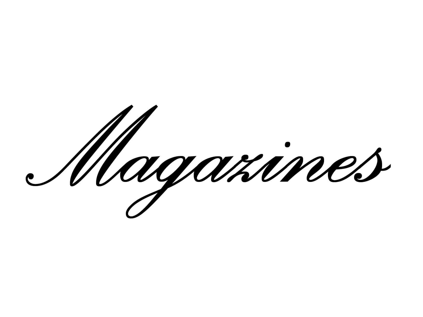 "Meubelsticker ""Magazines"""