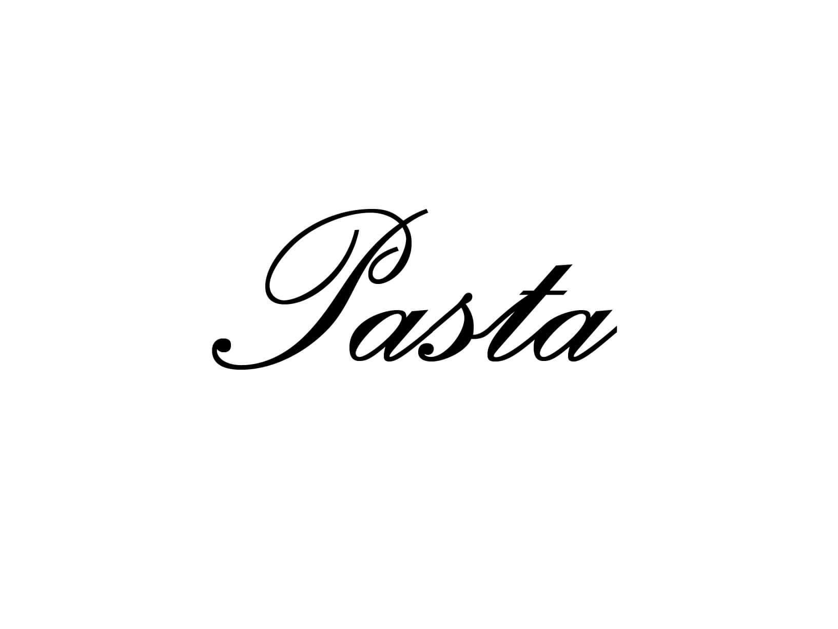"Meubelsticker ""Pasta"""