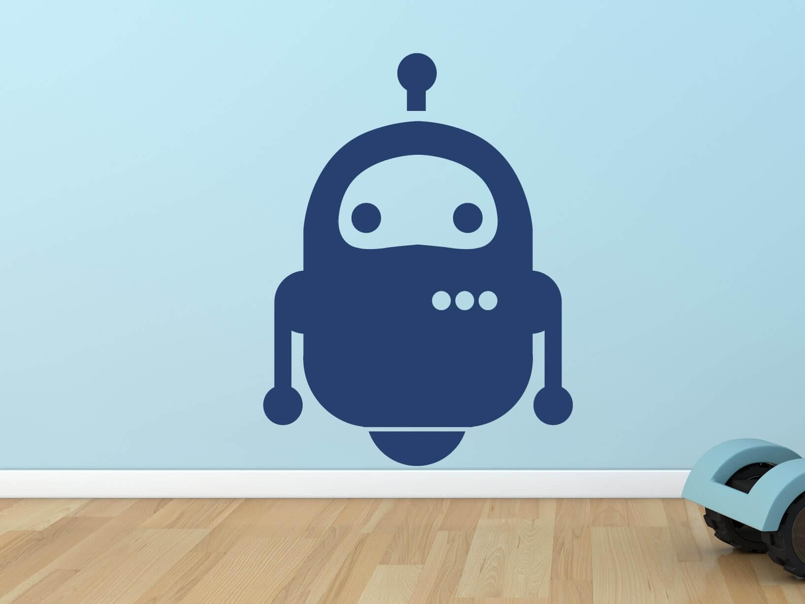 Muursticker robot 1