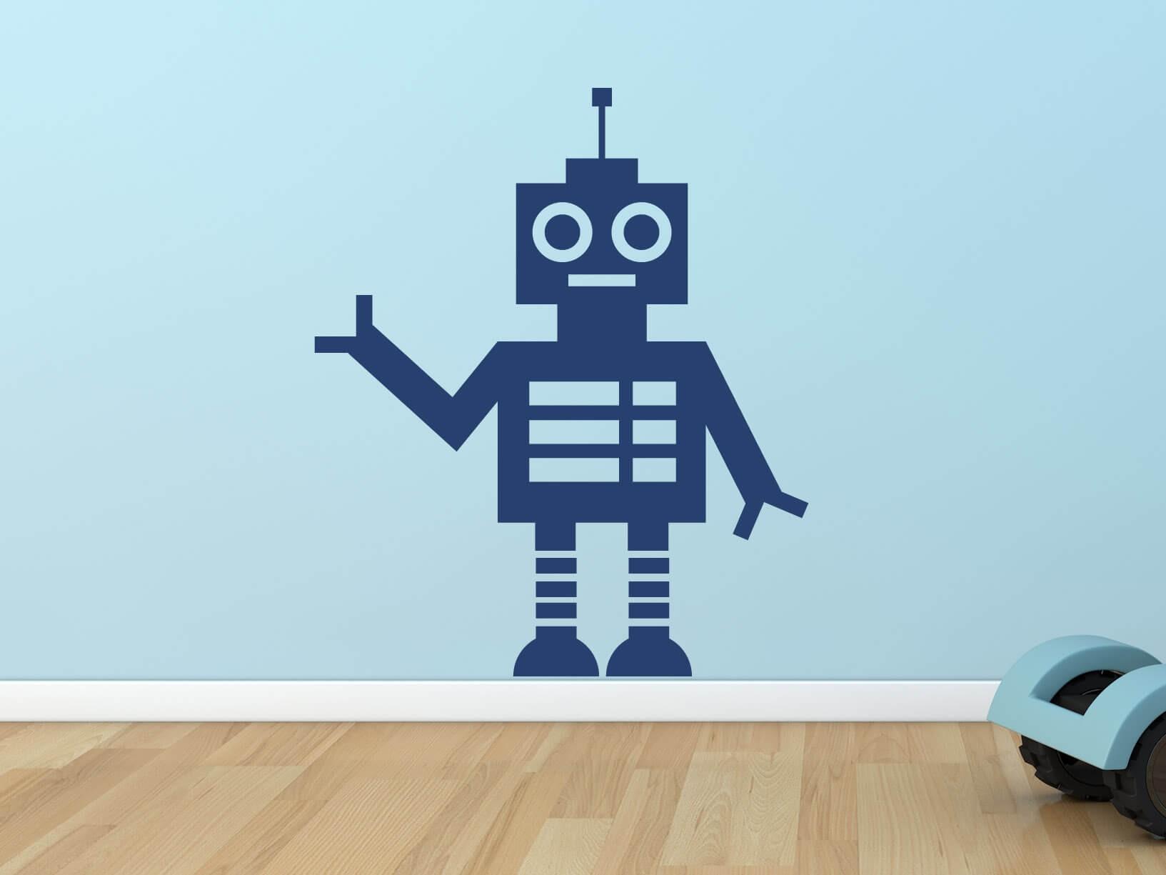 Muursticker robot 2