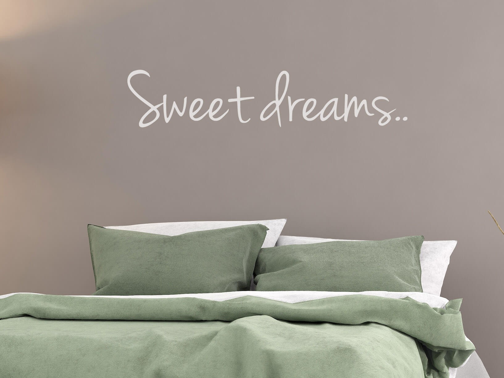 "Muursticker ""Sweet dreams.."""