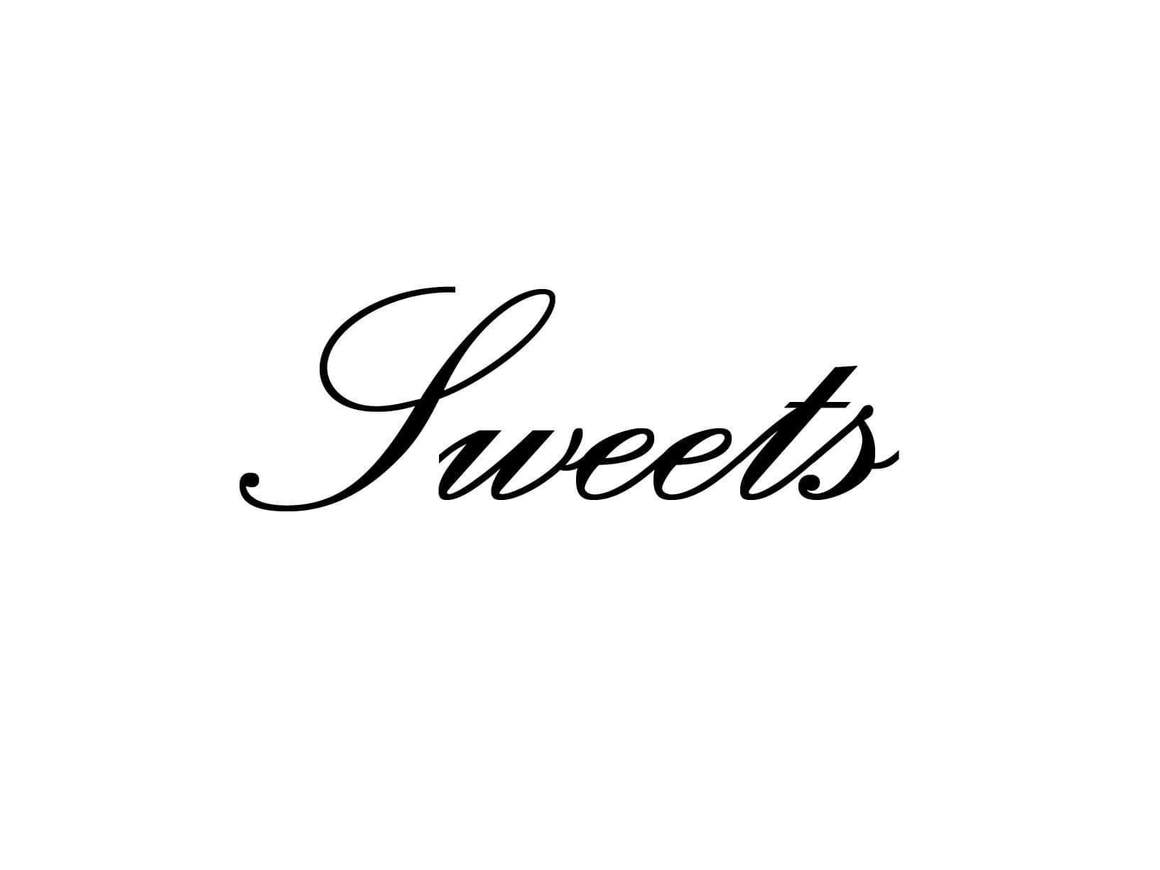 """Meubelsticker """"Sweets"""""""