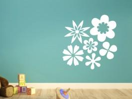 Muursticker bloemen