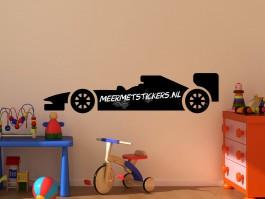 Krijtbord muursticker Formule-1 auto