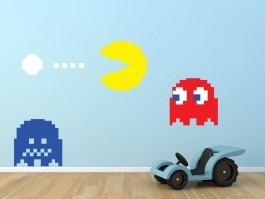 Muursticker Pacman