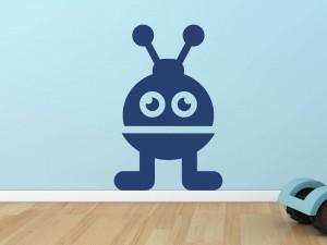 Muursticker robot 3
